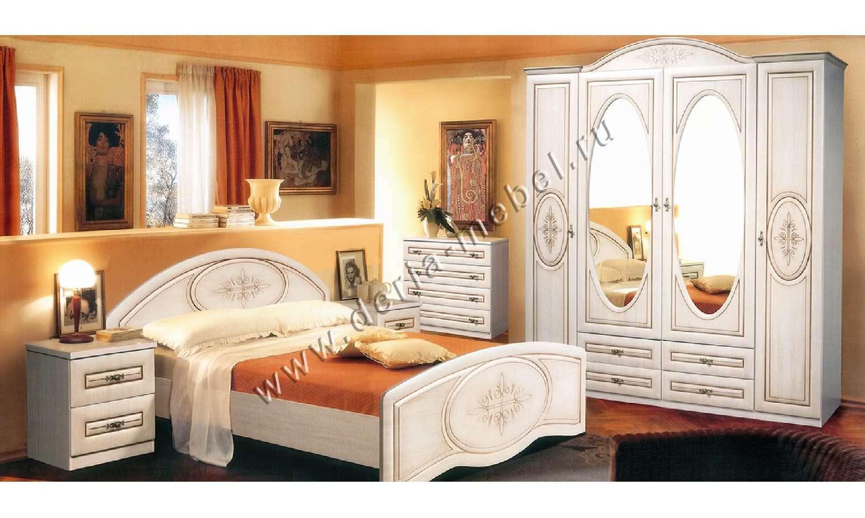 Спальня василиса, мебель-неман.